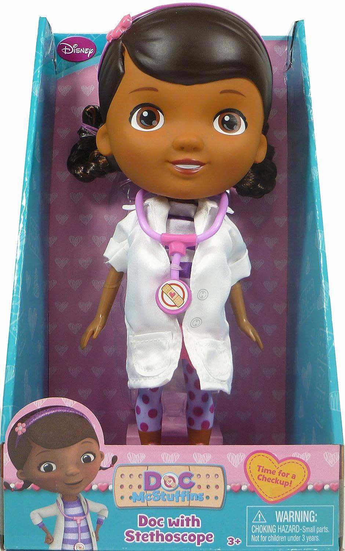 Doc McStuffins Doll 2014 Doc with Stethoscope   B00OYCW57G