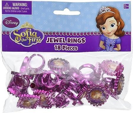 Amazon.com: Disney Sofia The First joya anillo Princesa ...