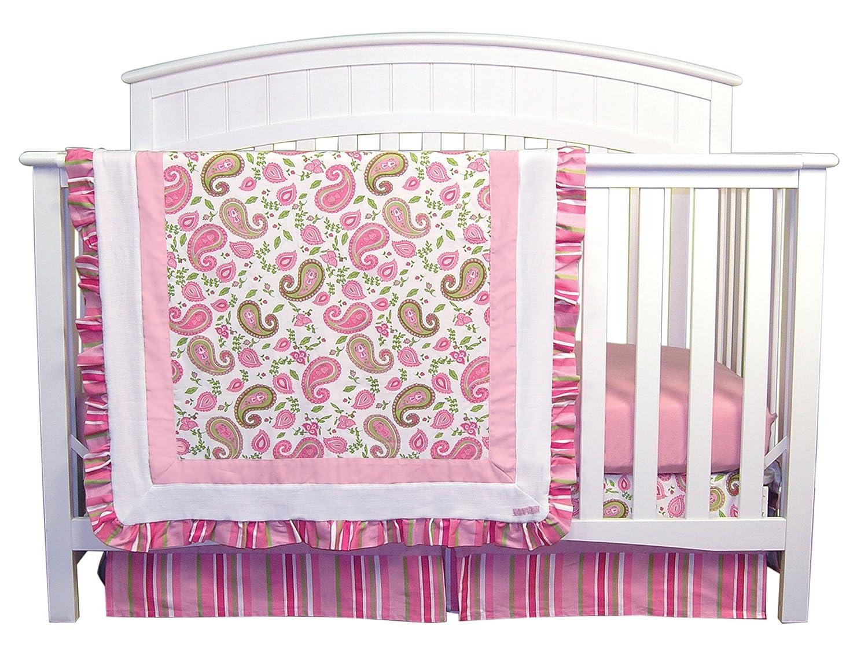 Trend Lab Paisley Park 3 Piece Crib Bedding Set 101553