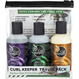 CURLY HAIR SOLUTIONS - Curl Keeper Travel Pack, 3.4 Oz