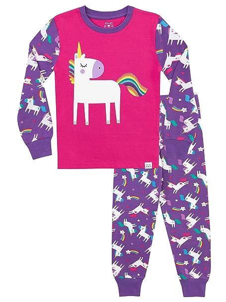 Amazon.com: Harry Bear Pajamas Unicornio para niña: Clothing