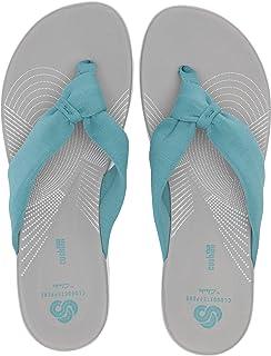d3d423679 Amazon.com | CLARKS Women's Brinkley Reef Flip-Flop | Flip-Flops