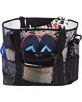 Holly LifePro Mesh Beach Bag Toy Tote Bag Market Grocery & Picnic Tote