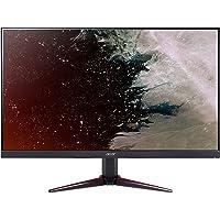 Acer UM.QV0EE.001 Monitor Komputerowy, 24 cale, Czerowny/Czarny