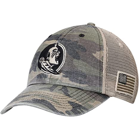 51d0b8a50ff Image Unavailable. Image not available for. Color  Florida State Seminoles  Top of the World Declare Trucker Adjustable Hat Camo