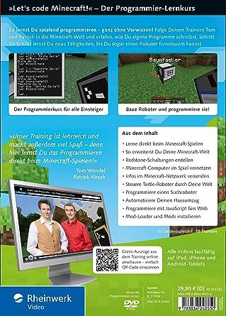 Lets Code Minecraft Amazoncouk Software - Minecraft spielen ohne account