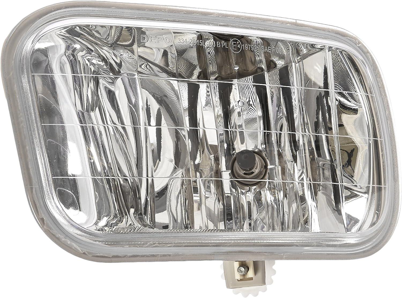 Fog Light Lamp New Front Right Hand for Ram Truck Passenger Side RH CH2595102