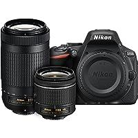 Nikon D5600 24.2MP Camera 18-55mm VR & 70-300mm Lens Refurb Deals
