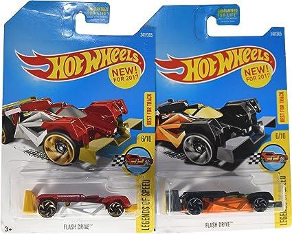 05d393199e761b Amazon.com  Hot Wheels 2017 Legends of Speed Flash Drive 6 10