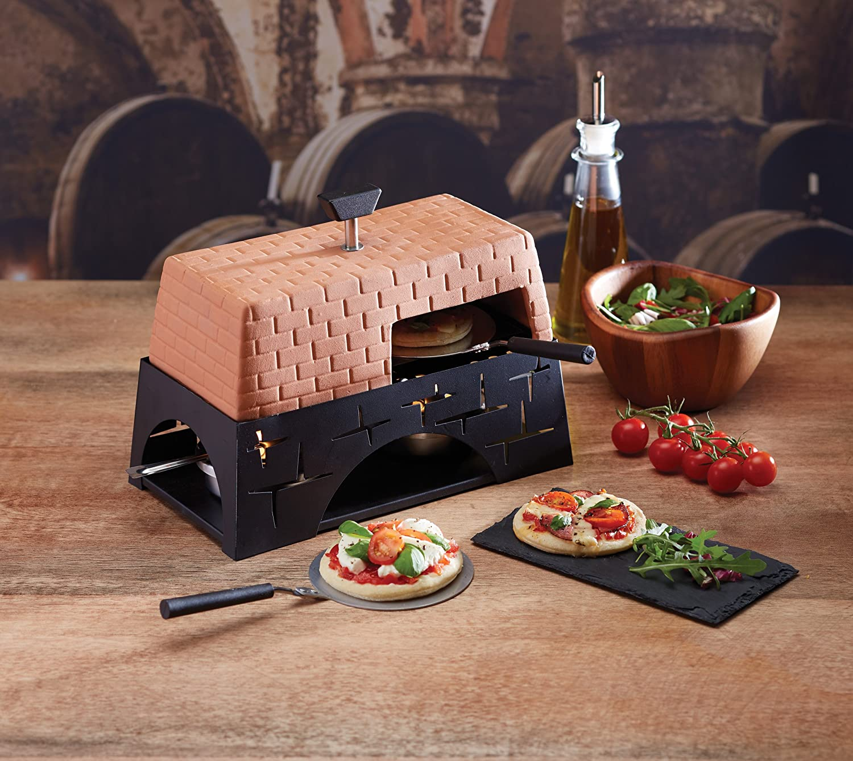 Master Class Terracotta Artesa Tisch-Pizza-Ofen Mehrfarbig