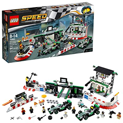 LEGO Speed Champions Mercedes AMG Petronas Formula One Team 75883: Toys & Games