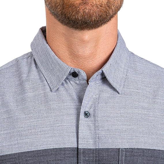 Coastal Brand Vernon - Camiseta de Manga Corta con Rayas ...
