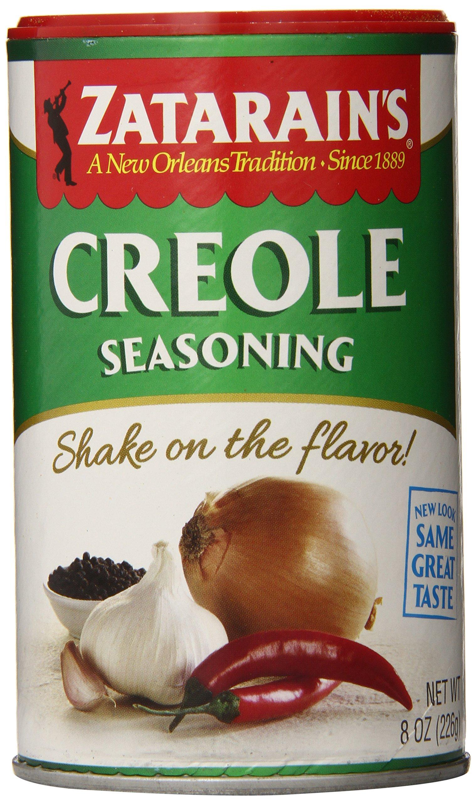 Zatarain's New Orleans Style Creole Seasoning, 8 oz (Pack of 12)