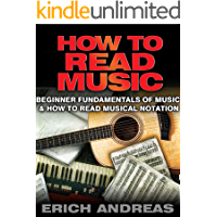 How to Read Music: Beginner Fundamentals of Music and How to Read Musical Notation book cover