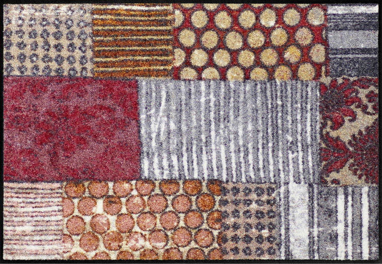 Salonloewe Fußmatte waschbar Pattern Mood 060x180 cm