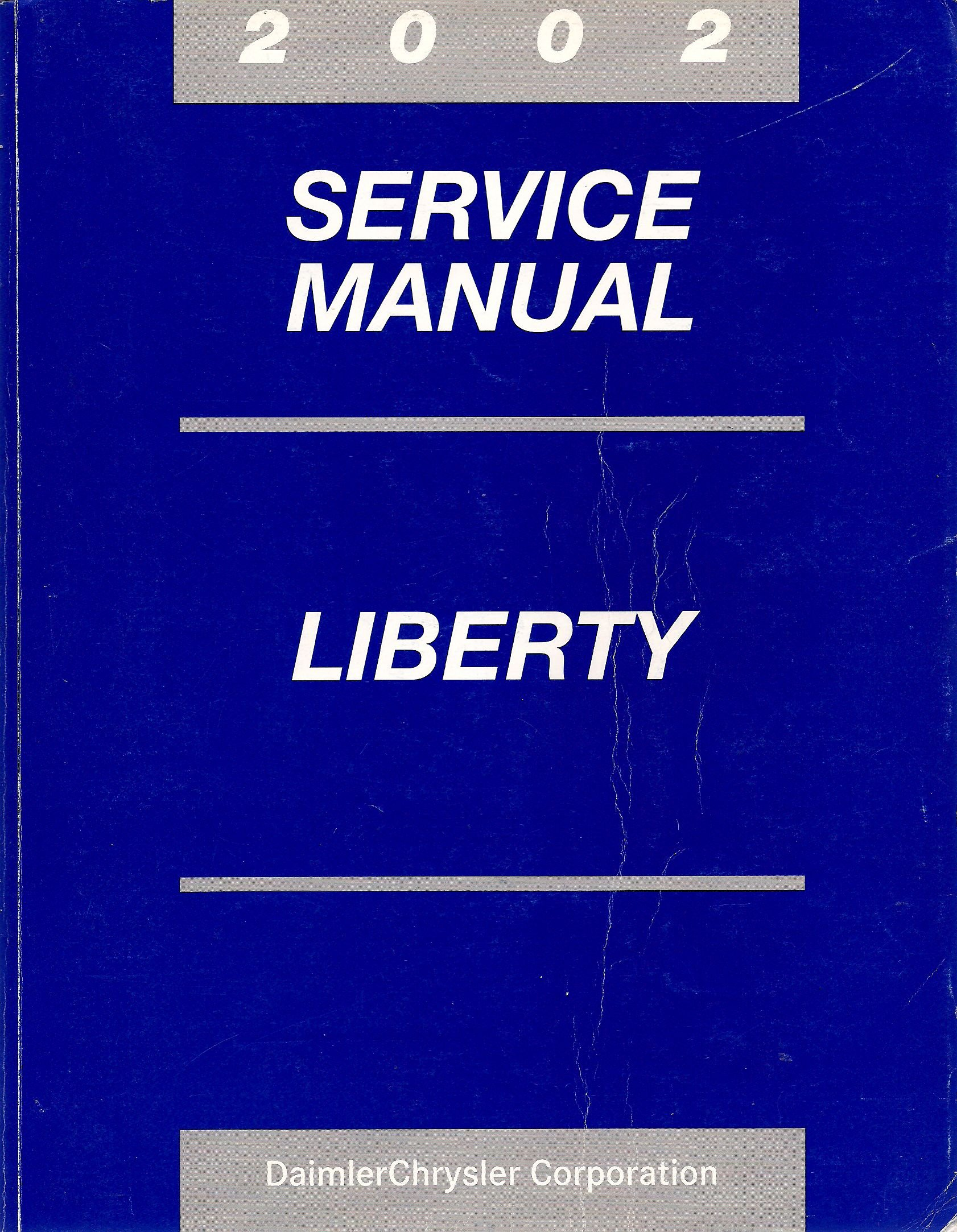 2002 jeep liberty factory service manual daimlerchrysler rh amazon com 2002 jeep  liberty factory service manual 2002 jeep liberty service manual pdf free