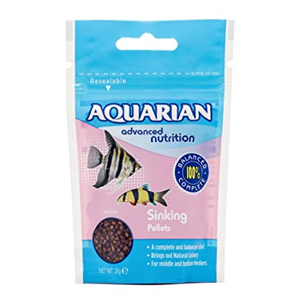 Amazon Com Aquarian Complete Nutrition Aquarium Bottom Feeder