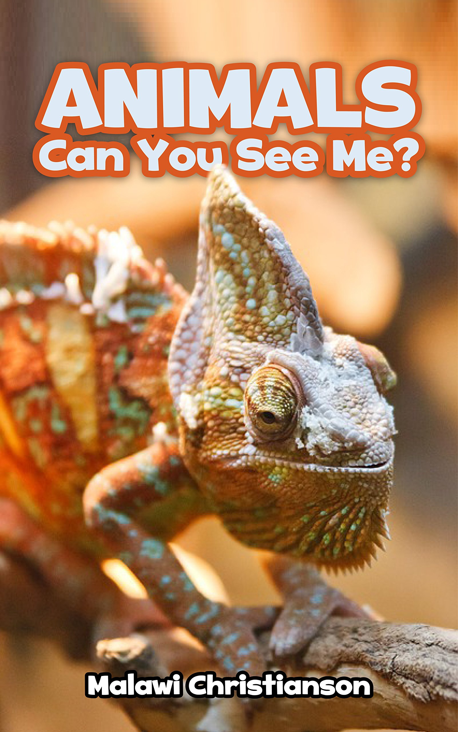ANIMALS: Can You See Me?: Animals Books For Kids - Ages 3-8 (English Edition)