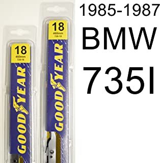 "product image for BMW 735I (1985-1987) Wiper Blade Kit - Set Includes 18"" (Driver Side), 18"" (Passenger Side) (2 Blades Total)"