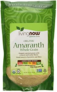 NOW Foods Organic Amaranth Grain - 1 lb