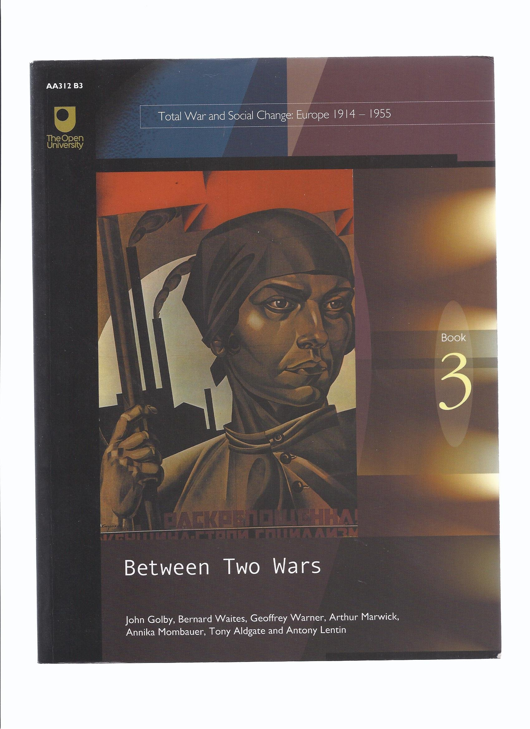 Between Two Wars: Course AA 312 (Total War and Social Change ; Europe 1914-1945) PDF