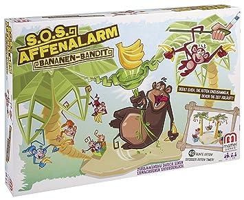 Juegos Mattel Monos Locos Roba Bananas Mattel Bfv25 Amazon Es