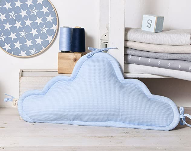 Amazon Blue Cloud Pillow Decorative Crib Back Cushion Nap Gorgeous Decorative Crib Pillows