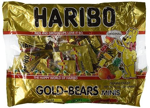 Gomitas Gold-Bear Mini de Haribo - 44 Mini bolsas ...