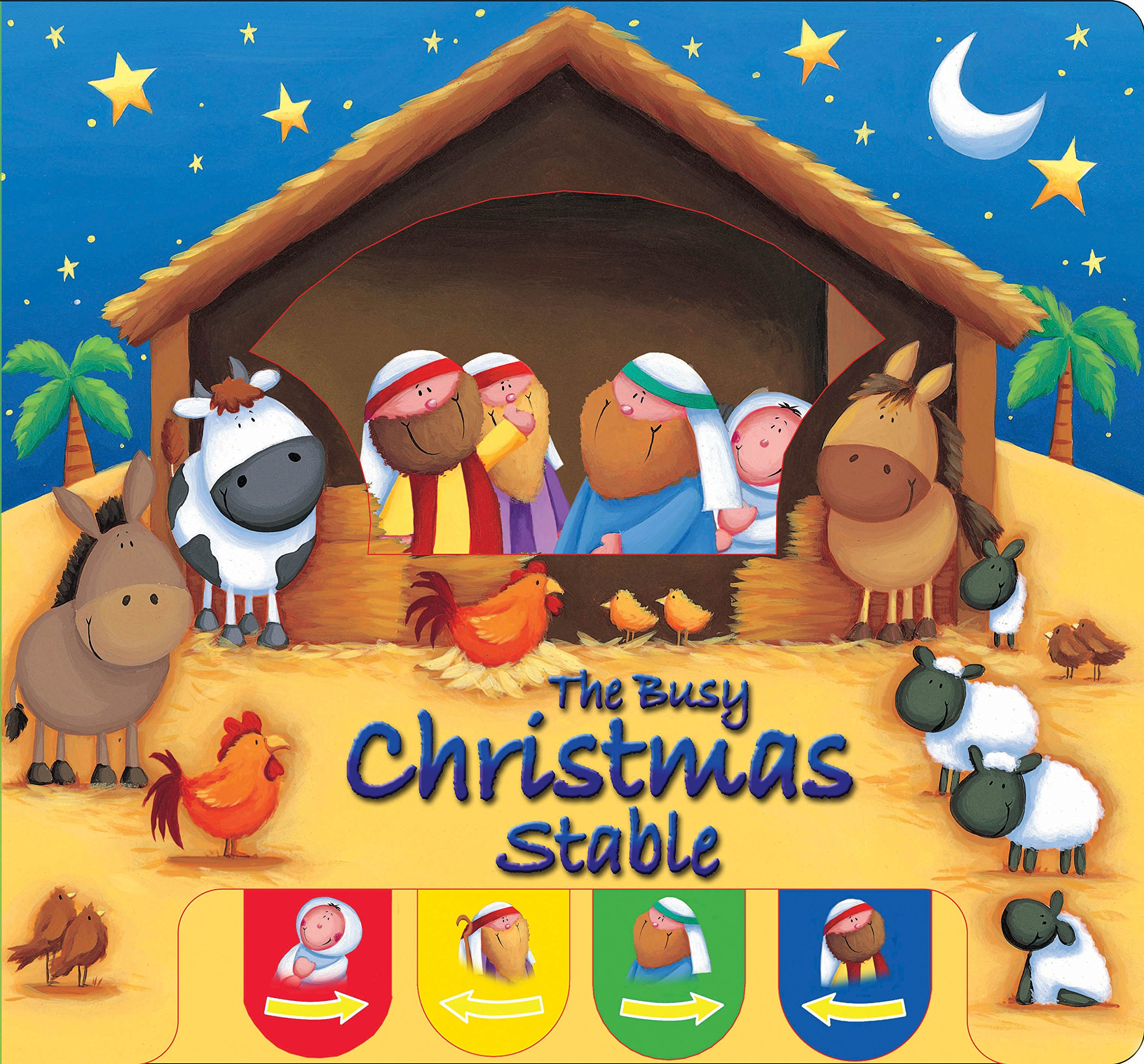The Busy Christmas Stable (Candle Peek-a-boo) PDF