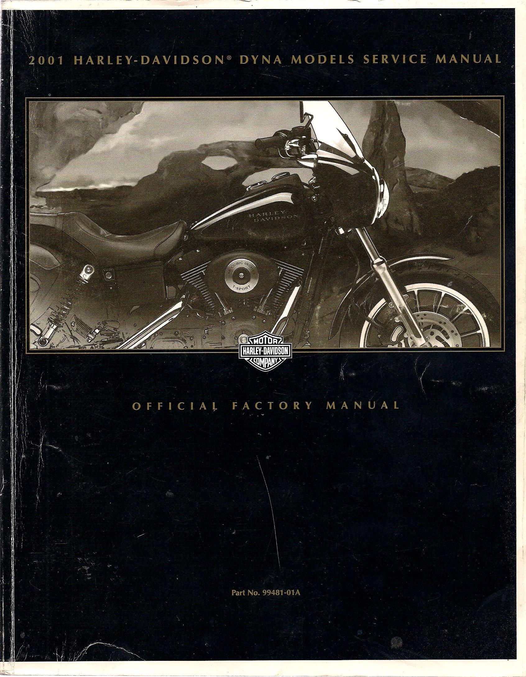 2001 Harley Davidson Dyna Models Service Manual (2001 Dyna Glide): Harley  Davidson: Amazon.com: Books
