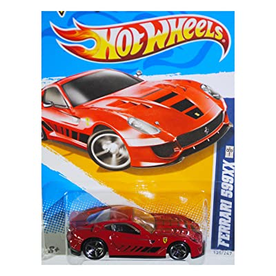 Hot Wheels 2012 HW All Stars Ferrari 599XX #125 Diecast Vehicle: Toys & Games