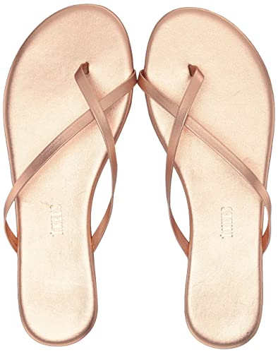ec2b86003a25 TKEES Riley Thong Leather Sandals Beach Pearl 5
