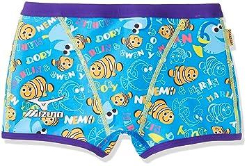 9a02fc89fa9 MIZUNO(ミズノ) 競泳水着 トレーニング用 メンズ エクサースーツ ショートスパッツ ファインディングニモ N2MB728027