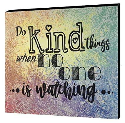 Amazoncom Catch Throw Do Kind Things Wall Plaque 11 X 88