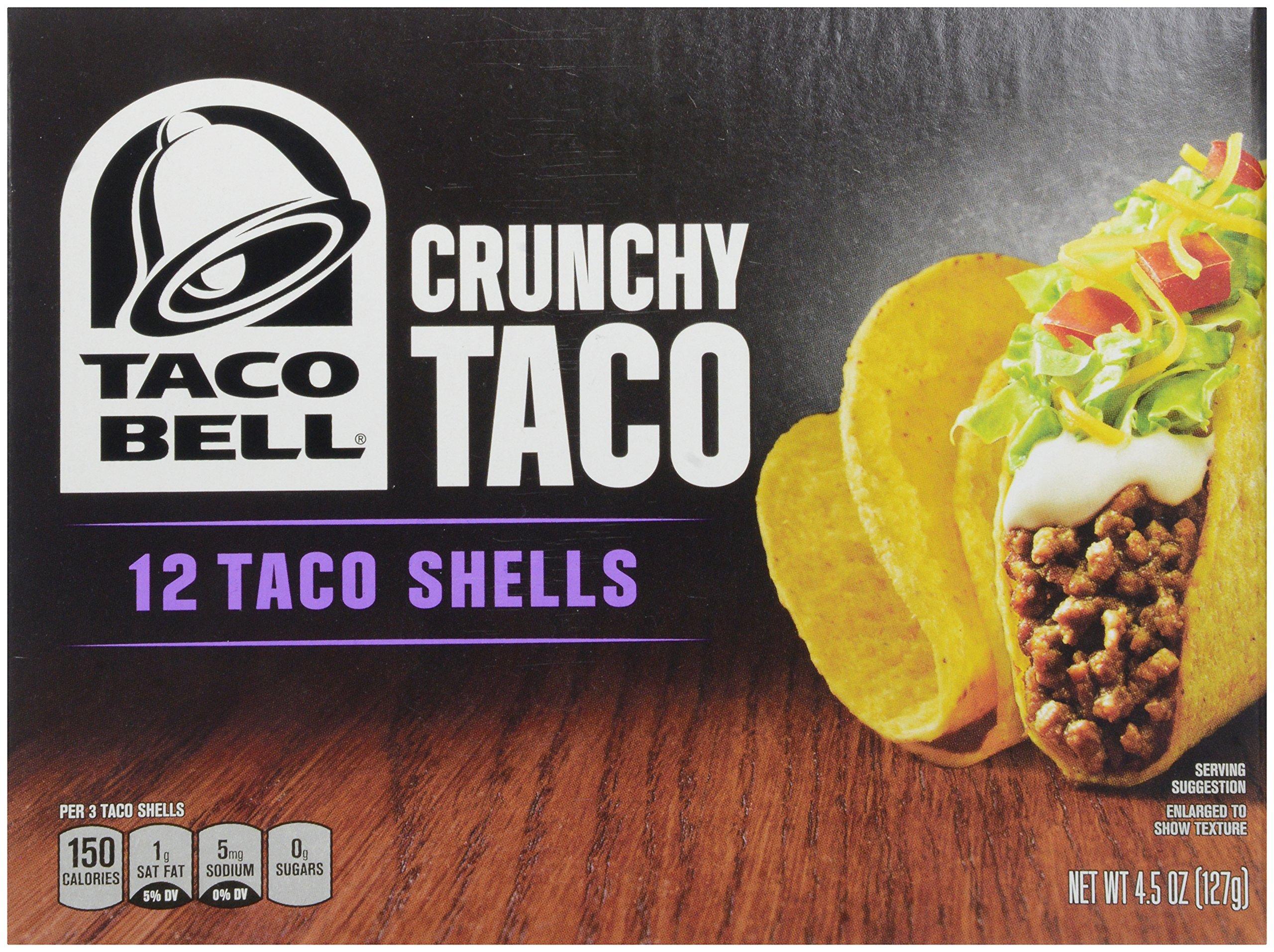 Taco Bell Taco Shells, 4.5 oz