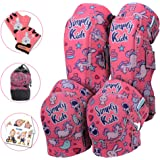 Simply Kids Innovative Soft Kids Knee and Elbow Pads with Bike Gloves I Toddler Protective Gear Set I Bike, Roller-Skating, S