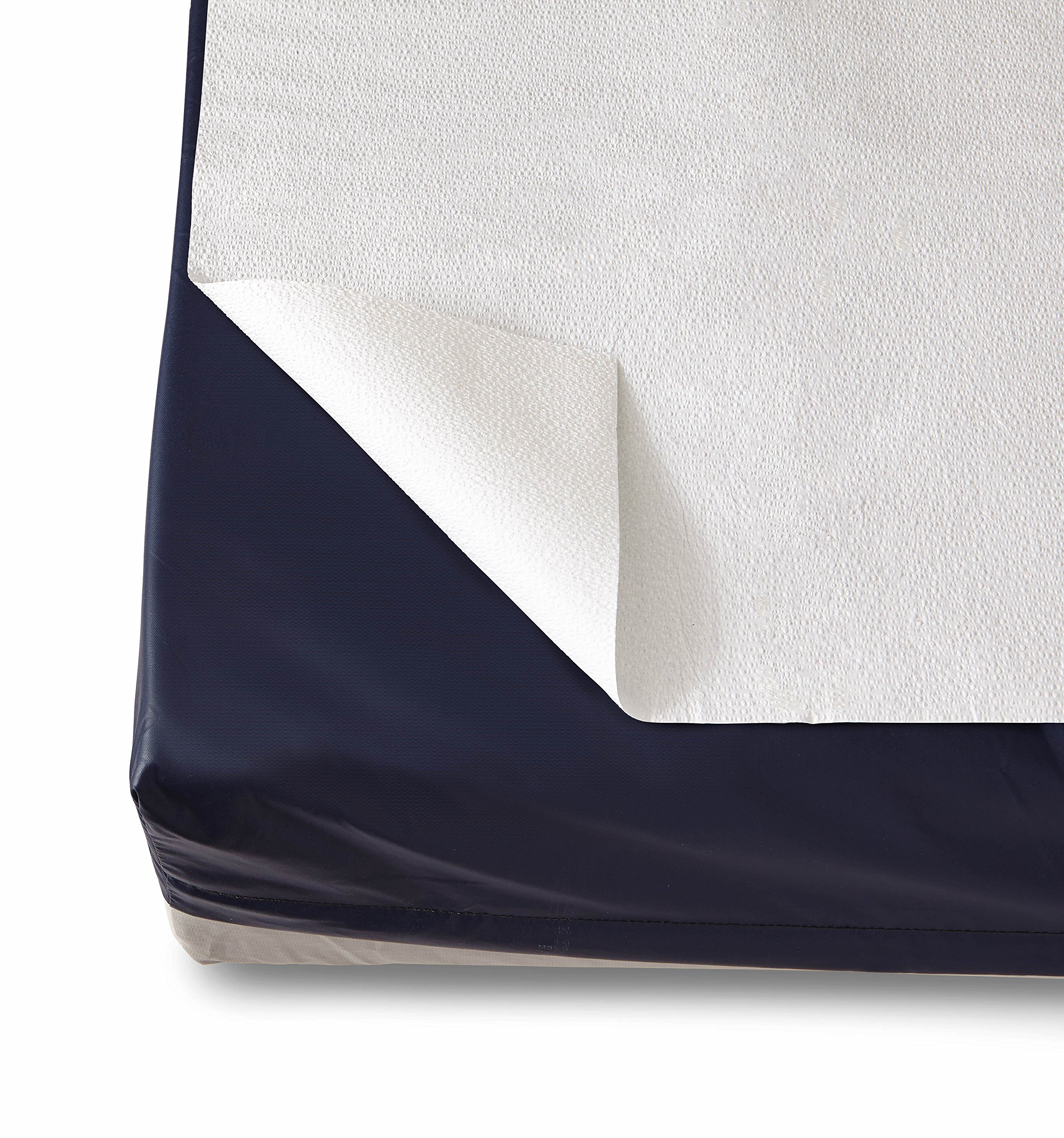 Medline NON24339A Tissue Drape Sheets, 2-ply, 40'' x 60'', White (Pack of 100)