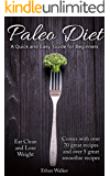 Paleo Diet A Quick and easy Guide for Beginners
