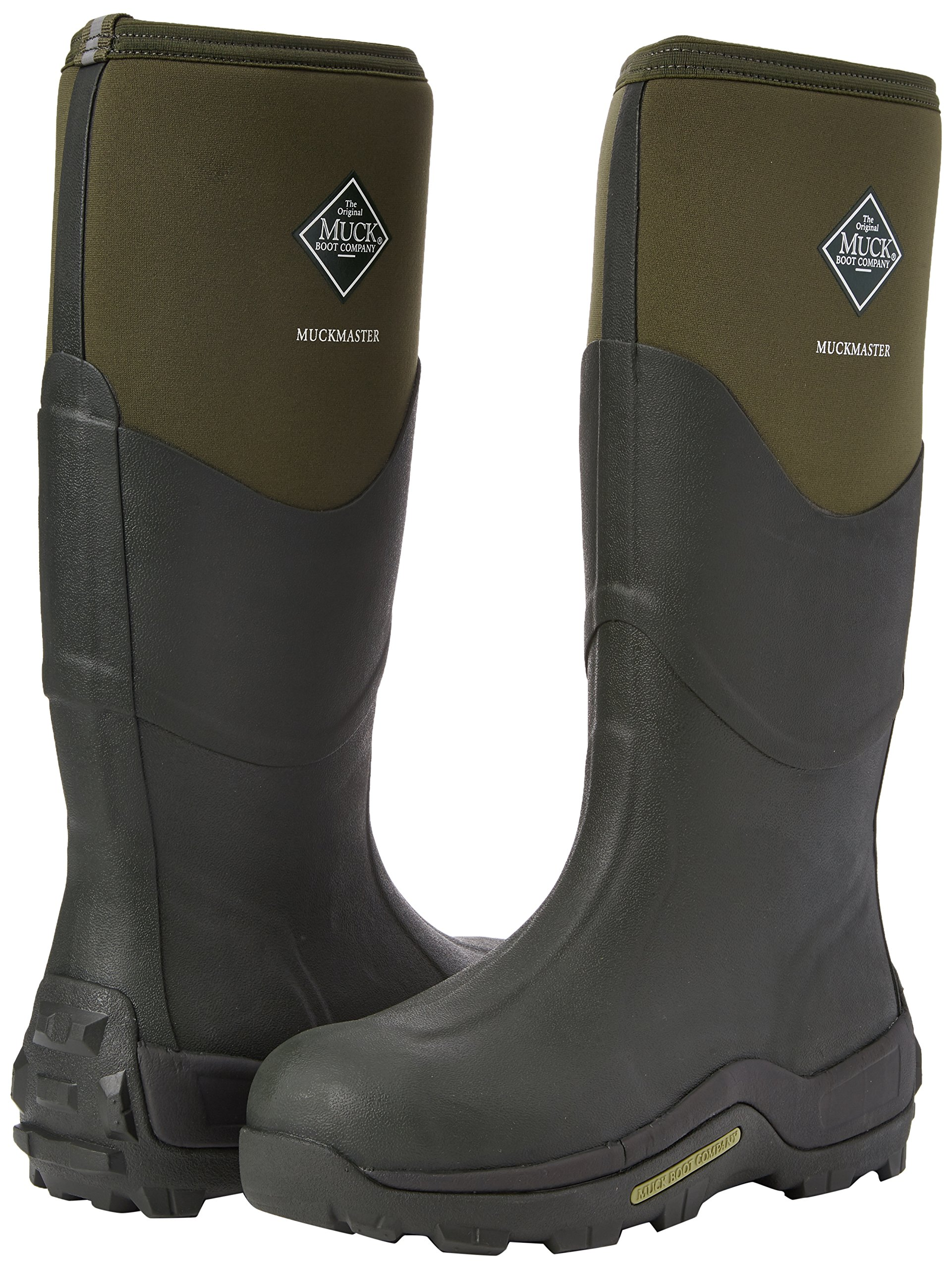 Muck Mens Muckmaster Green Textile Boots 9 US by Muck Boot (Image #5)