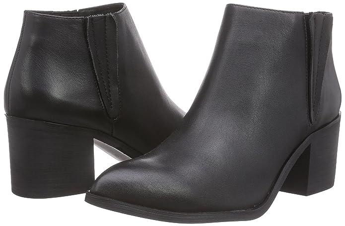 d4cebe57f0af Sofie Schnoor Women s Pointy Toe Leather Boot Biker Black