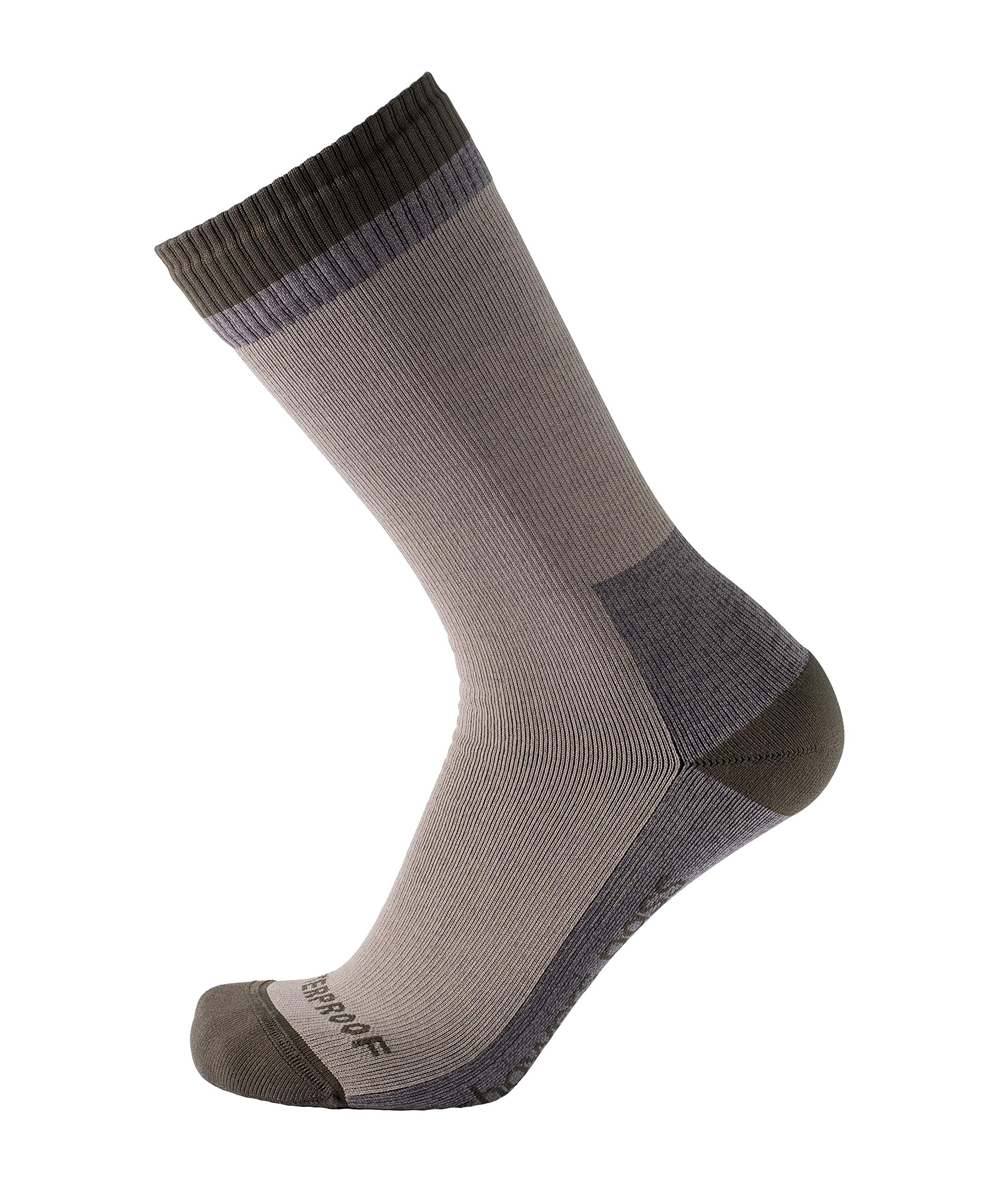 Showers Pass 100% Waterproof Breathable Wool Lined Multisport Unisex Socks - Mountain (STNE - MDL) by Showers Pass