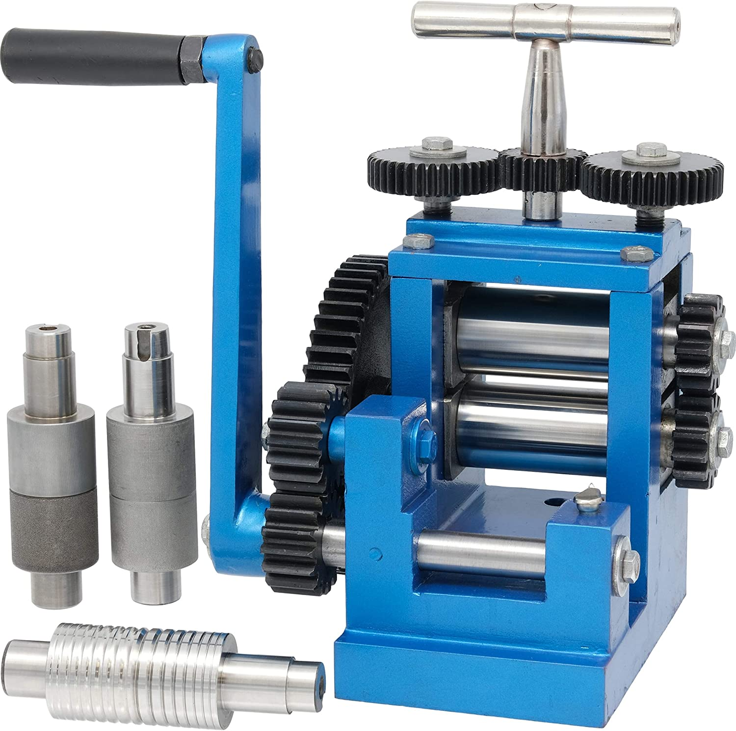 Amazon Com 3 80mm Rolling Mill 5 Metal Rollers Jewelers Tool Arts Crafts Sewing