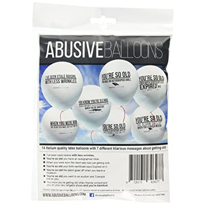 Abusive Balloons, Large: Toys & Games