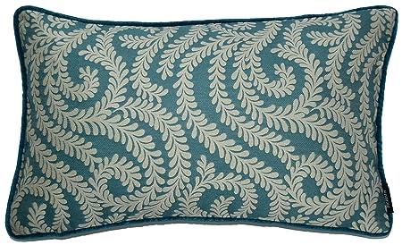 Cuscini Verde Acqua.Mcalister Textiles Cuscino Damascato Floreale Vintage Collezione