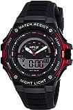 Helix Analog-Digital Black Dial Unisex Watch - TWESK0303