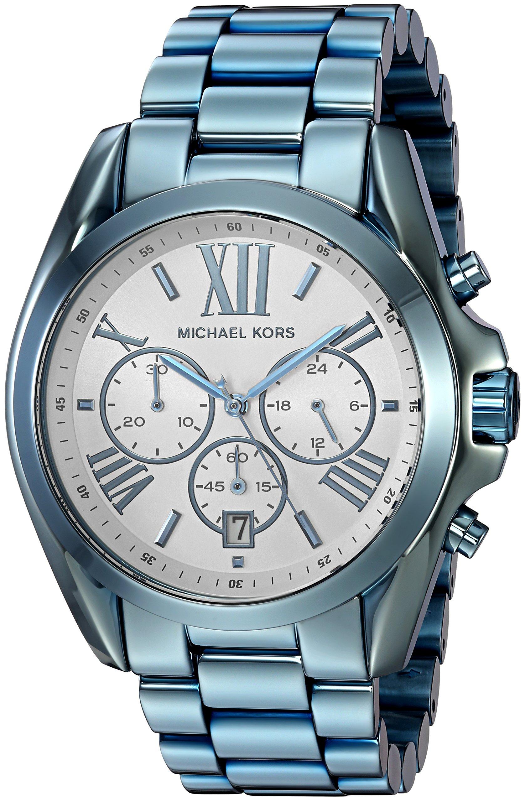 Michael Kors Women's Quartz Stainless Steel Casual Watch, Color:Blue (Model: MK6488) by Michael Kors
