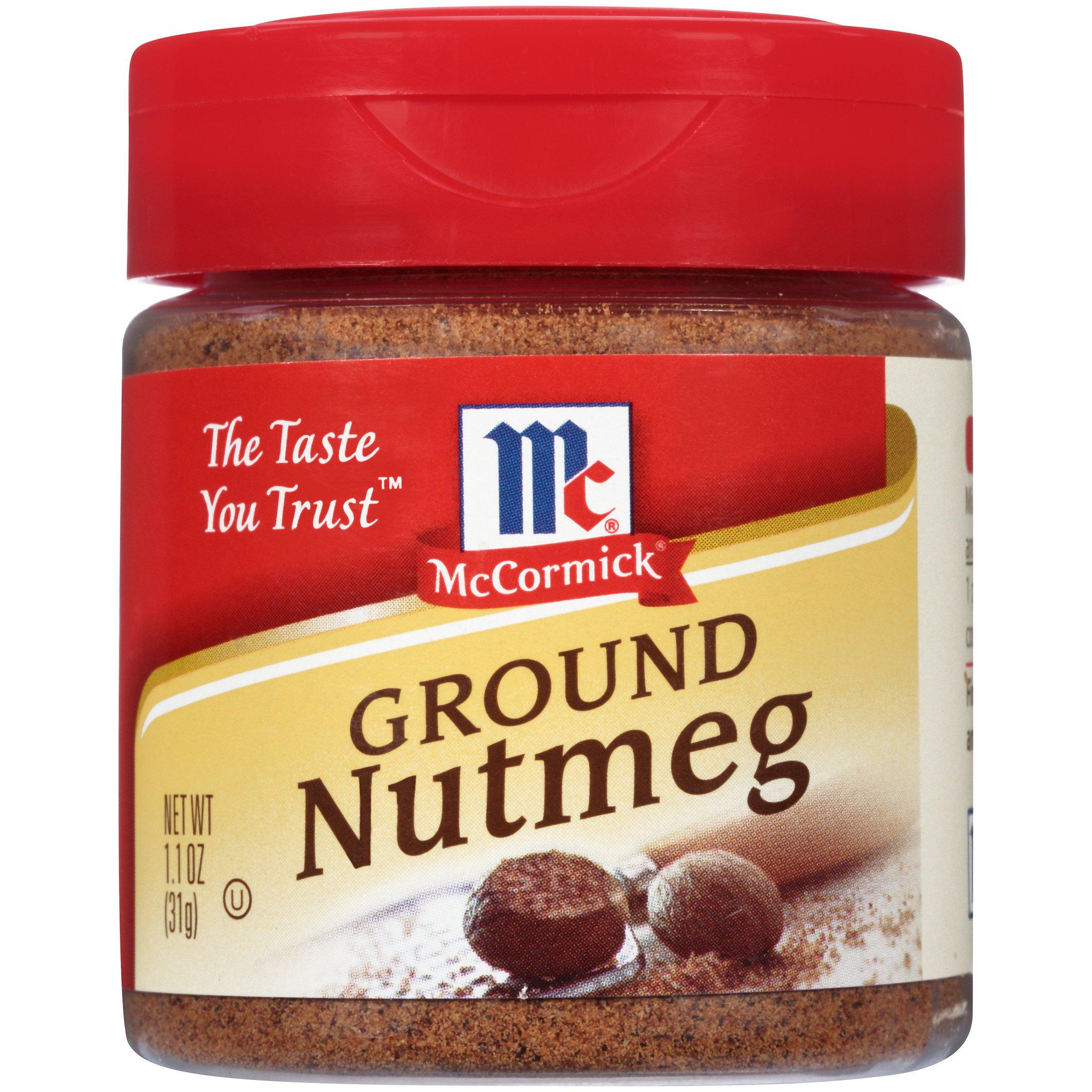McCormick Ground Nutmeg, 1.1 oz by McCormick (Image #1)