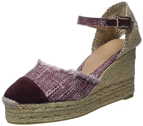 Castañer Casandra/6Ed/Fw18003, Alpargatas para Mujer, Rojo (Granate 601), 38 EU: Amazon.es: Zapatos y complementos