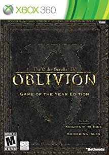 elder scrolls iv oblivion game of the year edition disc 2