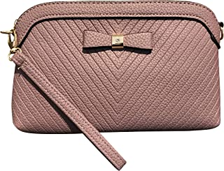 Weekday's Revolt Clutch Bag for Women, Vegan, Faux Leather, with Wrist Strap and Cross Body Strap, 24 x 15 x 4cm, Detachable Wrist Strap 17cm, Detachable and Adjustable Shoulder Strap 33 – 65cm